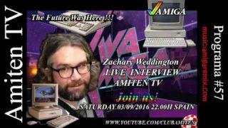 Amiten TV - Program #57 Zachary Weddington Interview