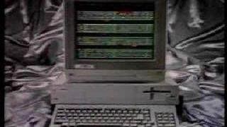 Amiga 1000 Personal Computer Television Commercial