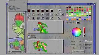 Gestione Icone AmigaOS, Tipo, Funzioni E Modifica