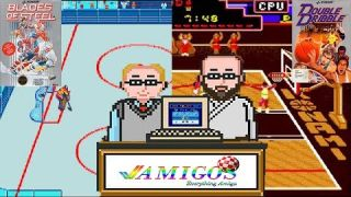Amigos: Everything Amiga Podcast Episode 101 - Double Dribble and Blades of Steel