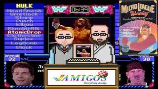 Amigos Everything Amiga Podcast Episode 6 Micro League Wrestling