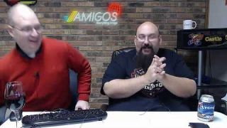 Amigos Live - Macca's Fat Face, Wine Talk, Shadow Fighter, Arcade1Up, and Assorted Nonsense
