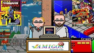 Amigos: Everything Amiga Episode 139 Shadow Warriors / Escape from the Planet of the Robot Monsters