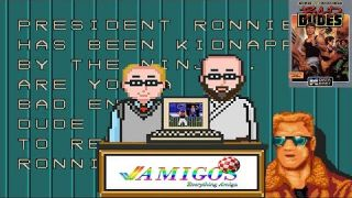 Amigos: Everything Amiga Podcast Episode 113 - Bad Dudes