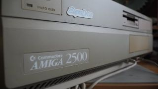 Tricking out the Amiga 2500 Part 1.