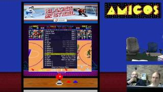Amigos: Everything Amiga Livestream 101 - Double Dribble / Blades of Steel with MAME Comparison