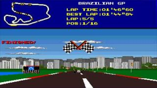 Amigos Longplay: F1 World Championship Edition - Commodore Amiga (No Commentary)